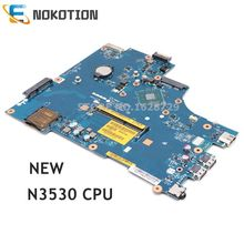NOKOTION новая материнская плата для ноутбука Dell inspiron 15 3531 SR1W2 N3530 cpu ZBW00 LA-B481P CN-0Y3PXH 0Y3PXH основная плата