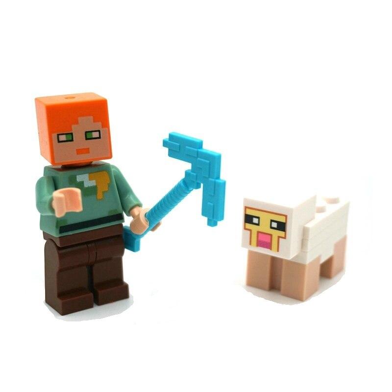 lego minecraft minifigures toys (12)