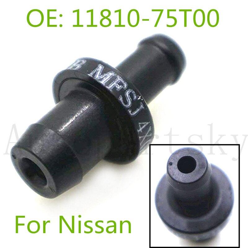 Nueva válvula PCV ventilación positiva del cárter 11810-75T00 1181075T00 para Nissan SR20DET S14 S15