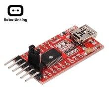 1 stücke FTDI FT232RL USB zu TTL Serial Converter Adapter Modul 5V und 3,3 V Für Arduino Heißer Weltweit