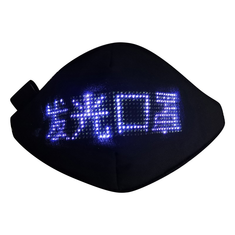 LED Luminous Mask Mobile Phone APP Edit Pattern Text Bungee Advertising Display Masks Module Matrix Programmable Christmas Gift 2