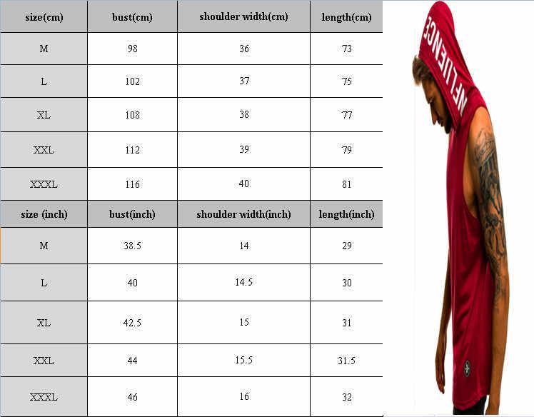 男性パーカータンクトップノースリーブ筋肉ジムスポーツスリムベストボディービルフード付きヒップホップストリートワークアウト弾性男性のタンクトップ