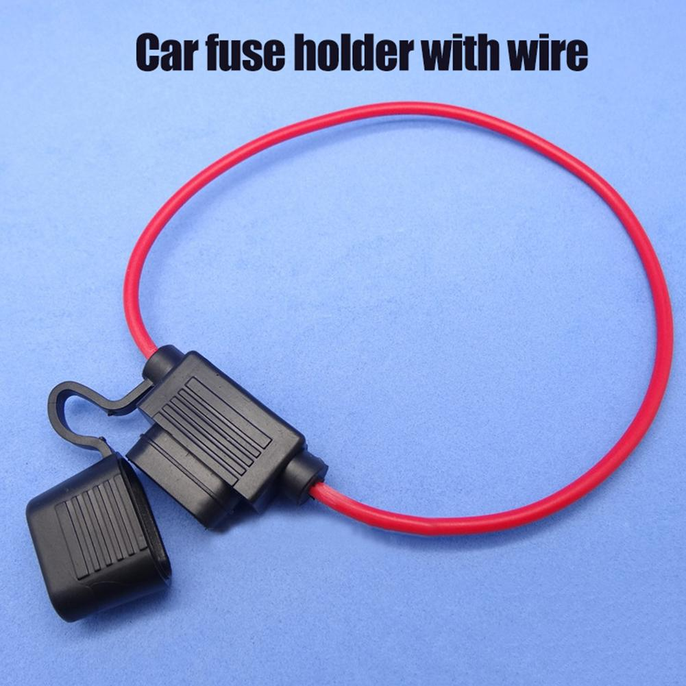 In-Line Car Automotive Mini Blade Fuse Holder 20A 30A S Fuseholder Auto Safety Truck Portable