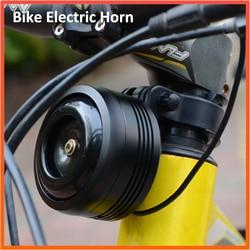 Sino de bicicleta chifre elétrico com alarme super som para scooter mtb bicicleta usb de carregamento 1300mah segurança anti-roubo alarme 125db alto