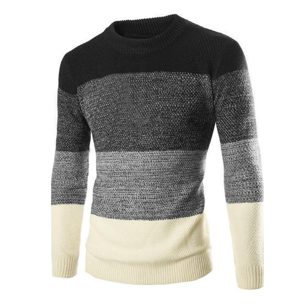 Men Casual Sweater Autumn Winter Warm Sweaters Clothes