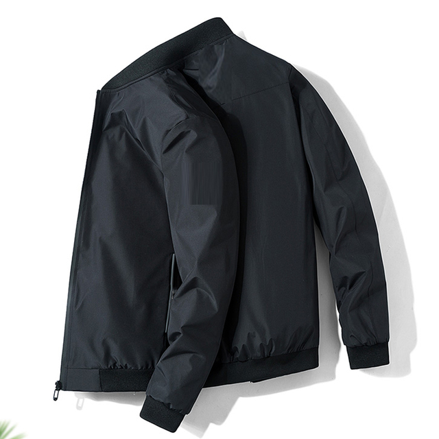 Men Jacket Spring Autumn Fashion Brand Slim Fit Coats Male Casual Baseball Bomber Jacket Mens Overcoat Plus size 4XL