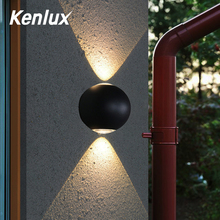 Indoor Lighting LED Wall Lamp IP65 Waterproof & Outdoor Aluminum Light Surface Mounted Cube Garden Porch