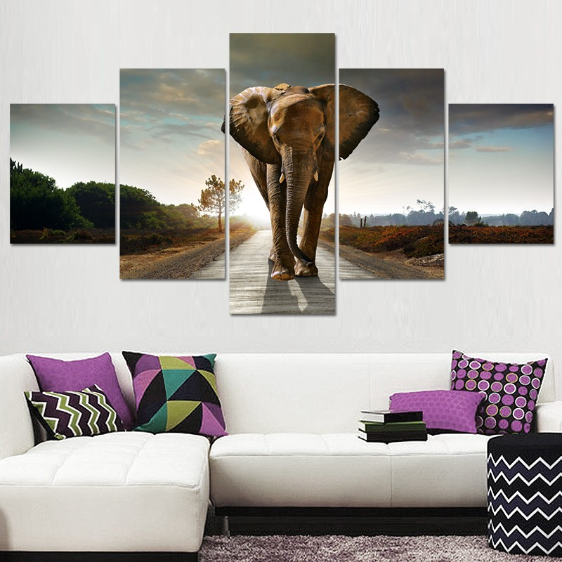 H7ff369f5b6b84c119cb42eacfabbb4a4T Canvas HD Prints Paintings Wall Art Home Decor 5 Pieces Welcome Dropshipping Wholesale We Can Provide All The Pictures