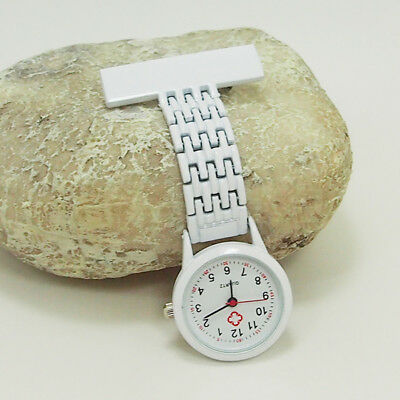 Nurse with Doctor Steel nurse watch brooch safety pins new ct 99 S0230 sent from Italy