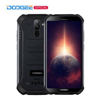 Перейти на Алиэкспресс и купить DOOGEE S40 Pro Android 10 прочный мобильный телефон IP68/IP69K 4 Гб Оперативная память 64 Гб Встроенная память Водонепроницаемый смартфонов Helio A25 Восьмиядер...