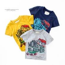 Летние детские футболки для мальчиков и девочек модные хлопковые
