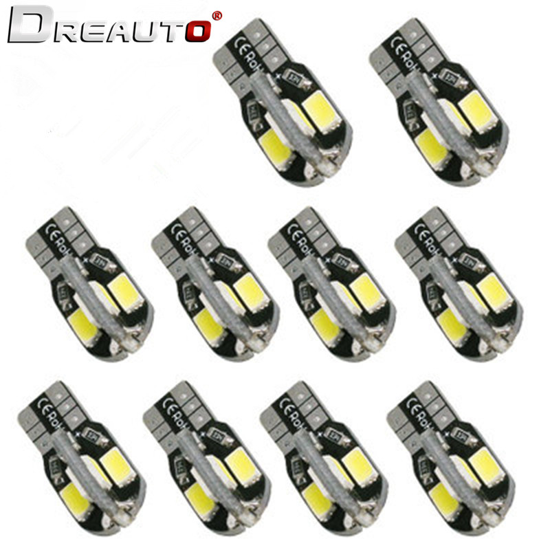 10pcs T10 W5W CANBUS LED Car Clearance Parking Lights For <font><b>Mercedes</b></font> <font><b>Benz</b></font> W211 W221 W220 W163 W164 W203 C E <font><b>SLK</b></font> GLK CLS M GL Class image
