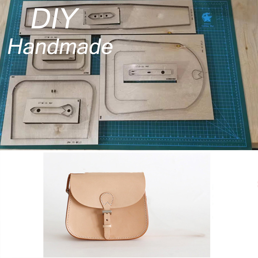 Knife Mold Laser Cutting Dies Leather Saddle Bag Wooden Cut Dies Diy Handcraft Suitable For Common Die-cutting Machines
