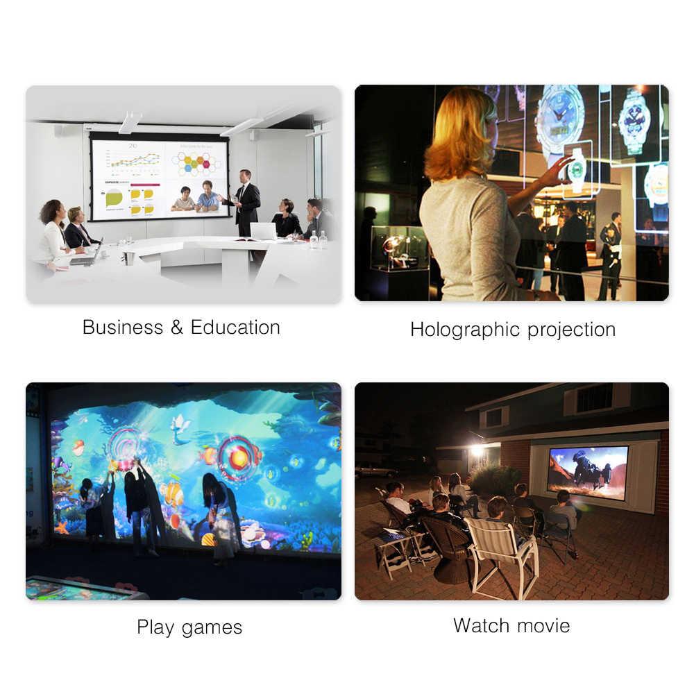 Proyector BYINTEK 3LCD K400 ,3300ANSI,Full HD 1080P Video proyector educativo 4K, proyector láser LED 3D para cine de 300 pulgadas
