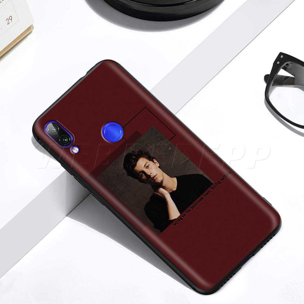 Shawn Mendes para Xiaomi rojo mi nota 8 mi 3 6 8 9 A1 A2 A3 8A 6X9 T CC9 Lite SE Pro Max F1 10