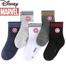 Marvel Captain America Children's Socks Fall/Winter Cotton Socks Boys Baby Socks Kids Socks