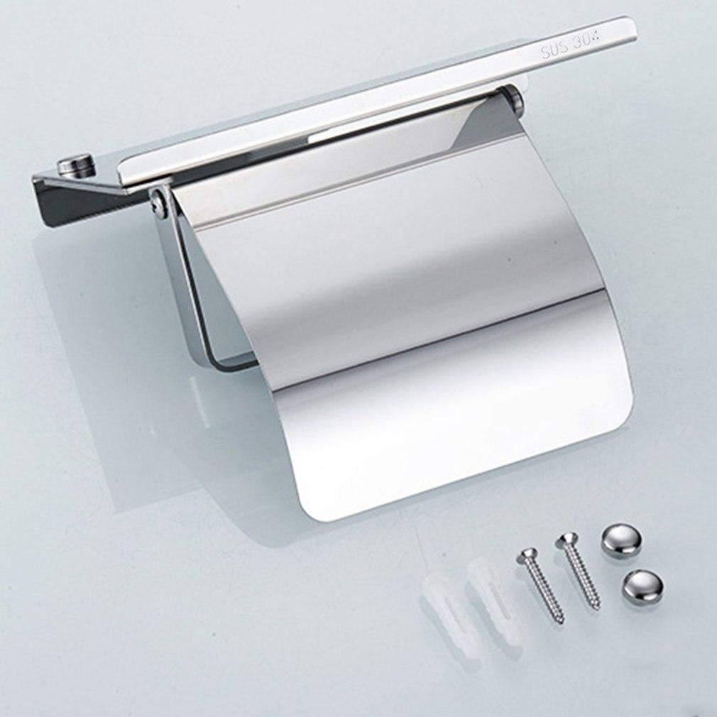 Нержавеющая сталь антикоррозийный Держатель Для Салфеток Настенный подвесной держатель для рулона бумажных полотенец Ванная комната