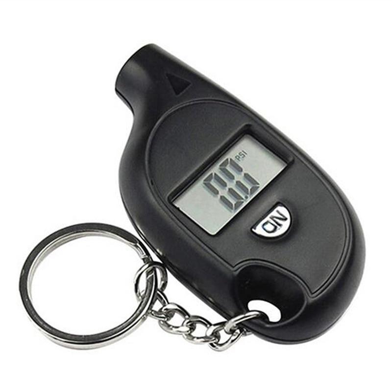 Car Tire Tyre Wheel Air Pressure Gauge Tester Digital Mini Portable LCD Display Auto Tool Tire Pressure Monitor