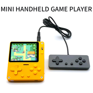 Games Mini Handheld Video Console Retro 8-Bit 3.0 Inch Color LCD Kids Color Game Player Built-in 1000+ Games