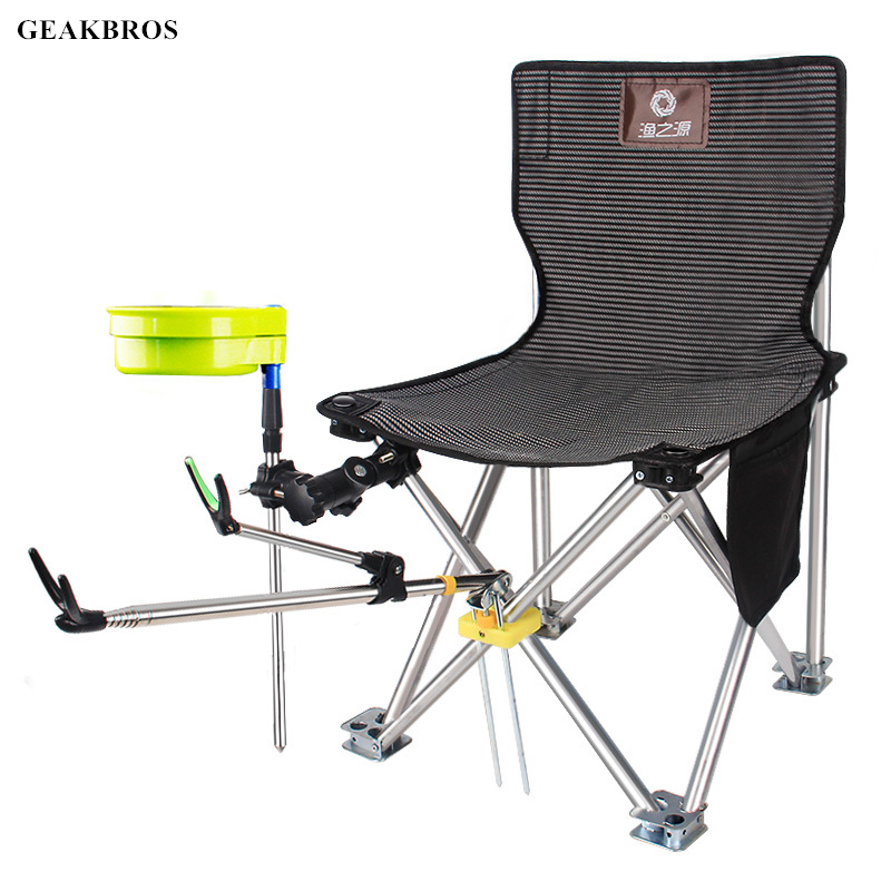 Portable Travel Ultralight Folding Chair Superhard High Load Outdoor Camping Chair Beach Hiking Picnic Seat Fishing Tools Chair