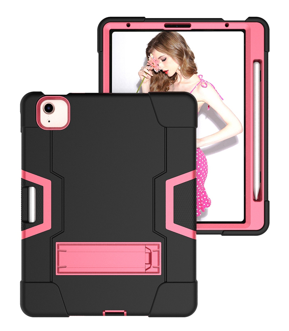 Black - Rose Red White For Apple iPad Air 4 4th Gen 10 9 inch 2020 A2324 A2072 Case Shockproof Kids