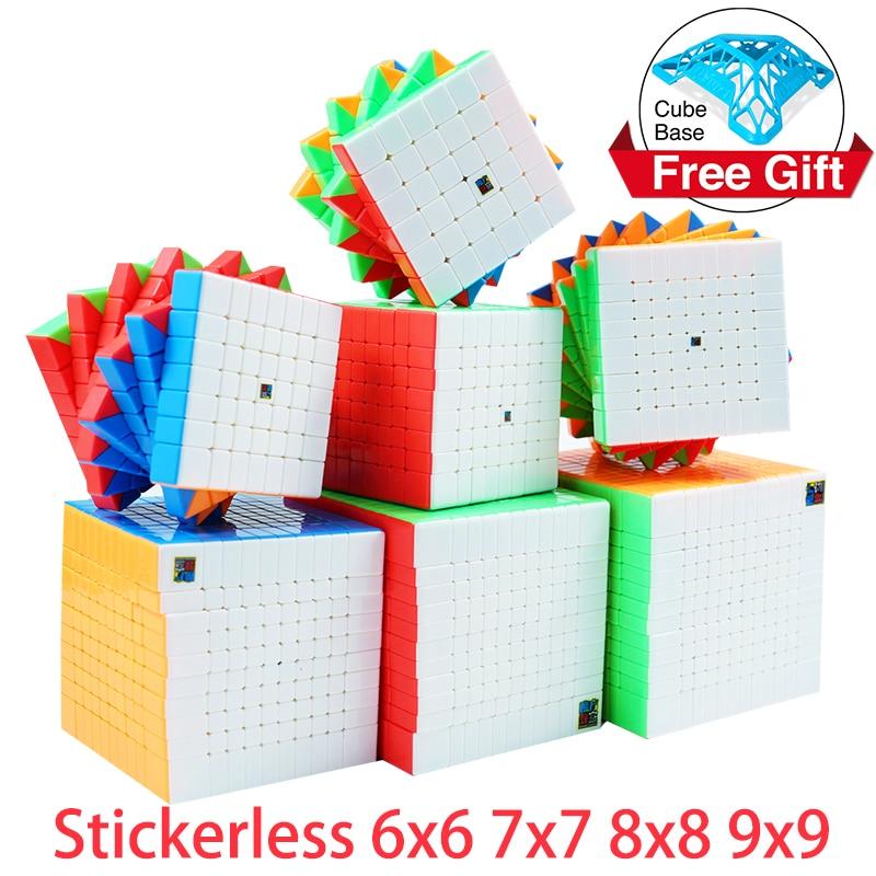 Высокоскоростной кубик-головоломка MoYu Meilong 6x6 7x7 9x9 10x10 11x11 12x12