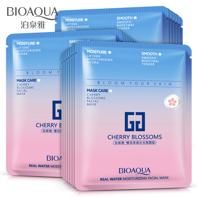 BIOAQUA Cherry Blossoms Sakura Facial Mask