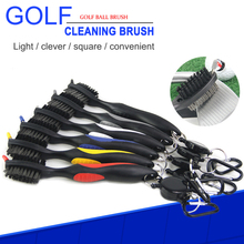 Golf Groove Cleaning Brush Golf Club Brush 2 Sided Golf Putter Wedge Ball Groove Cleaner Kit Cleaning Tool Gof Accessories