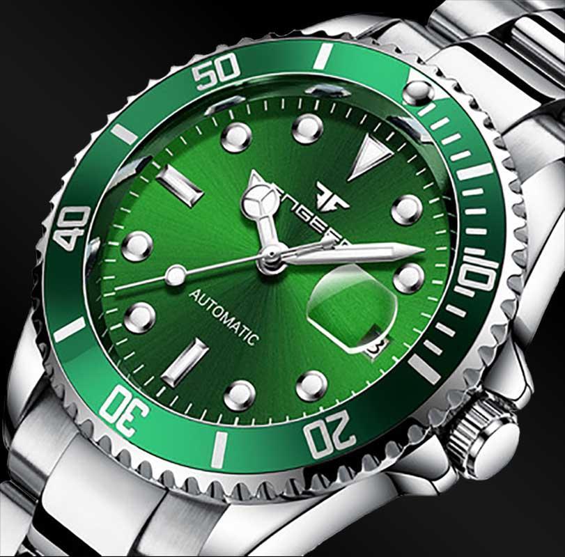 FNGEEN Top Brand Men S Fashion Luxury Watch Automatic Mechanical Stainlesssteel Waterproof Wrist Male Clock Relogio Masculino