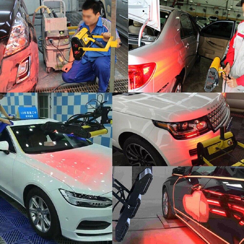 Mr Cartool cuerpo de coche lámpara de pintura infrarroja de mano lámpara de curado de pintura Reparación de pinturas para Auto horneado Handhold calefacción 220V - 2