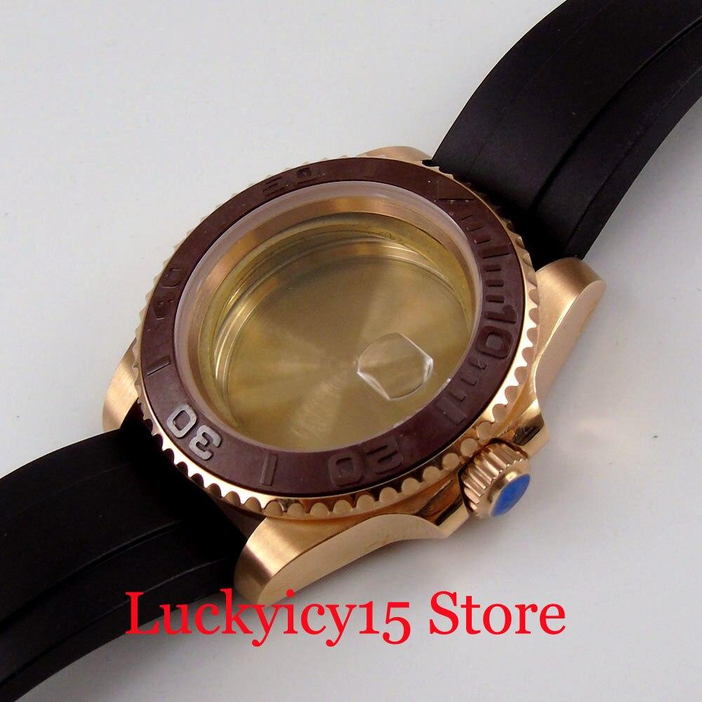 40mm relógio de reposição caso peças para