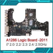 """נבדק באופן מלא 2.0/ 2.2/ 2.3/ 2.4/ 2.5GHz מעבד i7 האם 820 2915 A עבור Macbook Pro 15 """"A1286 היגיון לוח מוקדם 2011 מאוחר 2011"""