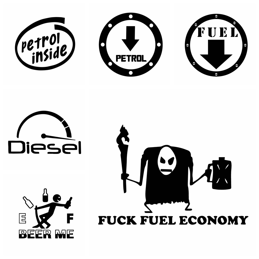 Fuel Tank Sticker Car Funny Hot Sale Diesel Car Stickers Vinyl For Fuel Tank Cap Cars Door Handle Car Styling Decor Accessories Shop The Nation