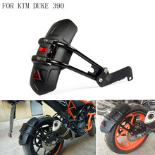 Motorcycle Rear Fender Mudguard License plate Light Holder Support with For KTM Duke 390 DUKE390 DUKE 200 2017 2018(China)