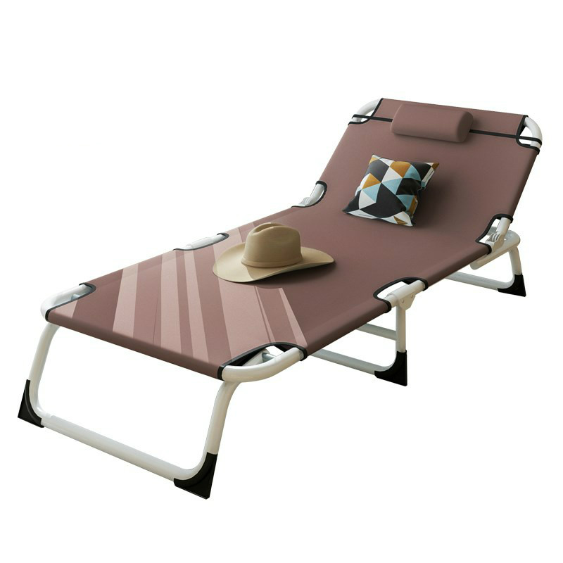 Multifunctional Folding Bed Single  Home Adult Lunch  Siesta Lounge Office Simple  Marching Care