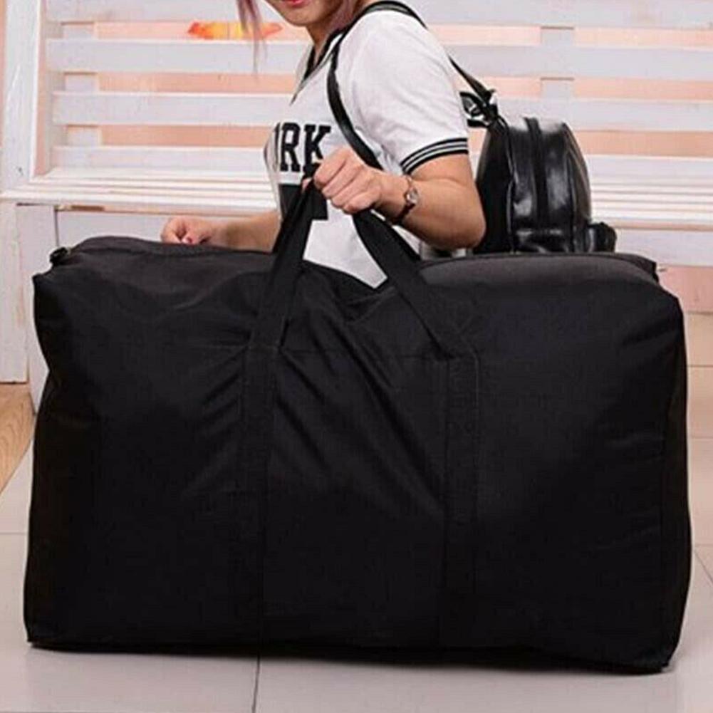 Extra grande à prova dextra água movente sacos de bagagem reutilizável saco de armazenamento de embalagem não tecido cubos de tecido casa lavanderia movente sacos de bagagem