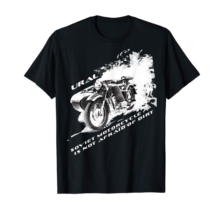 URAL Motorcycles Mens Polo Shirt USSR