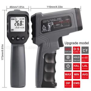 Image 5 - Digital Infrared Thermometer  50~380/550/750/1100/1300/1600 degree Single/Double laser Non Contact Thermometer Gun thermometer