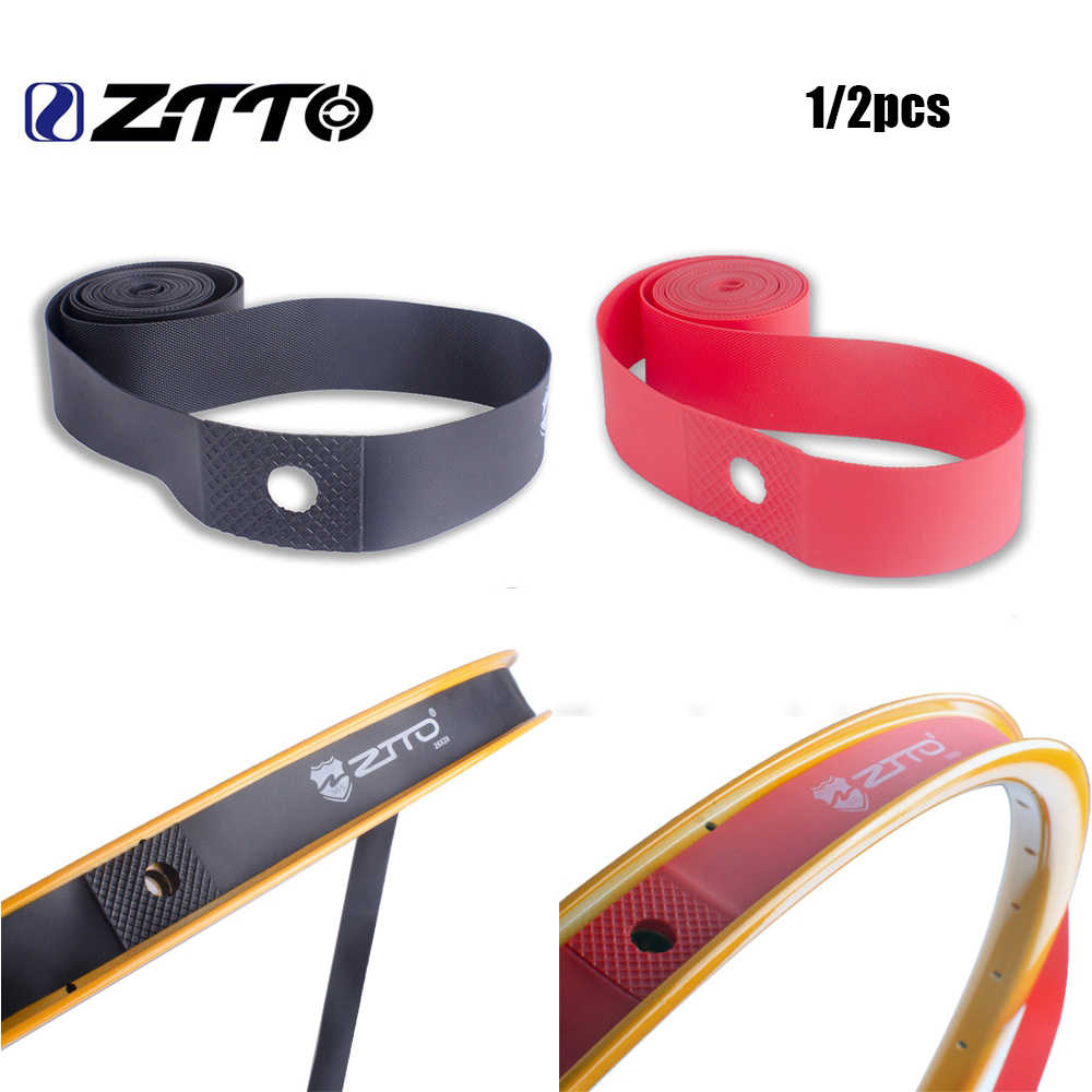 2pcs Bike Rim Tapes Strips Folding Tire Liners Tires Protector Liner Band Tube