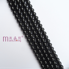 5A+ Natural Stone 8MM Black agate Onyx beads Hot Pretty Black Onyx agate Loose Beads For making bracelet jewelry(47-48 bead) xinyao jewelry loose 40 4 6 810 12 14 f369 onyx agate beads