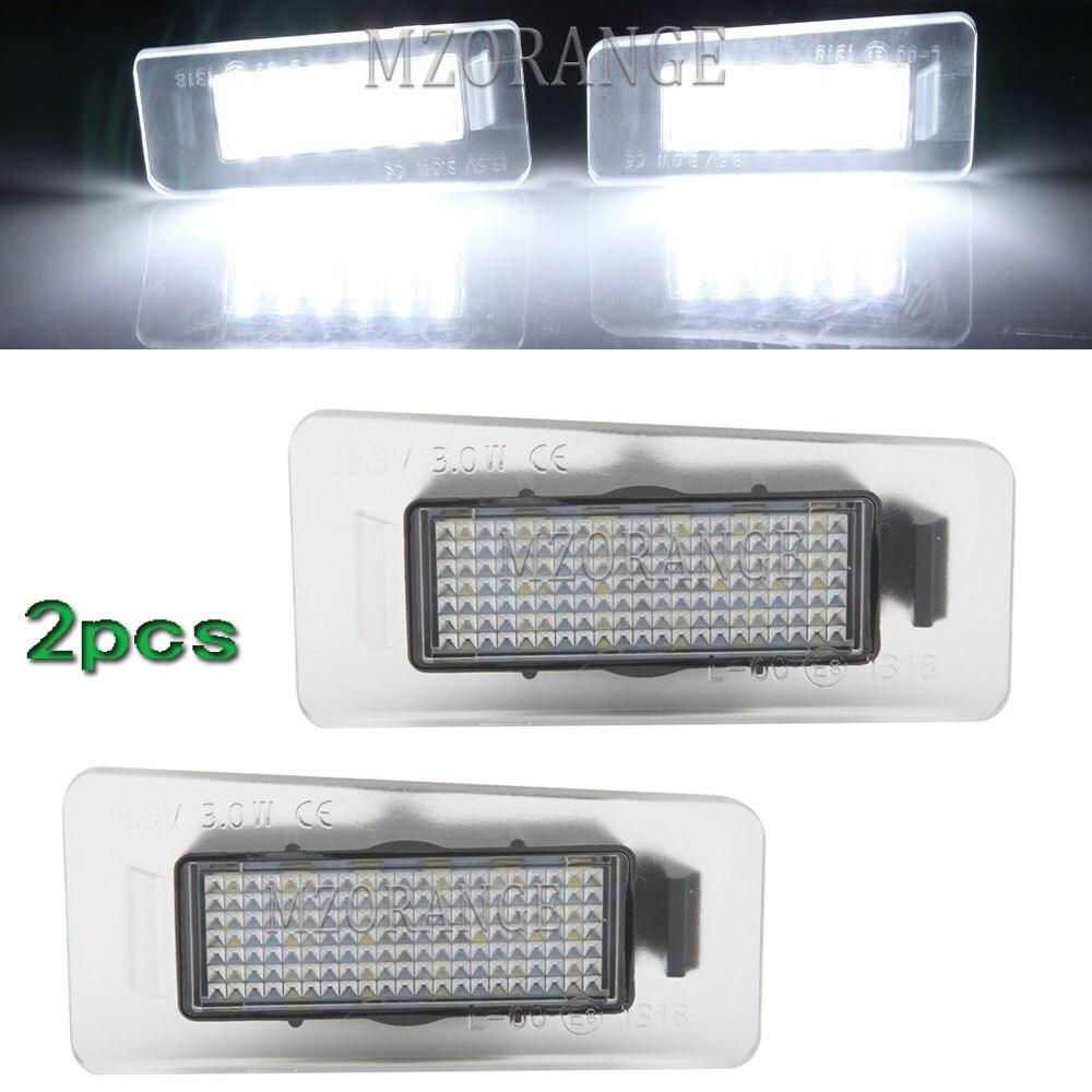 1 пара светодиодных ламп для номерного знака для Kia K3 для kia K5 Optima K2 2006-2014 для Optima Hybrid для Cadenza Premium 2014 лампа с номером