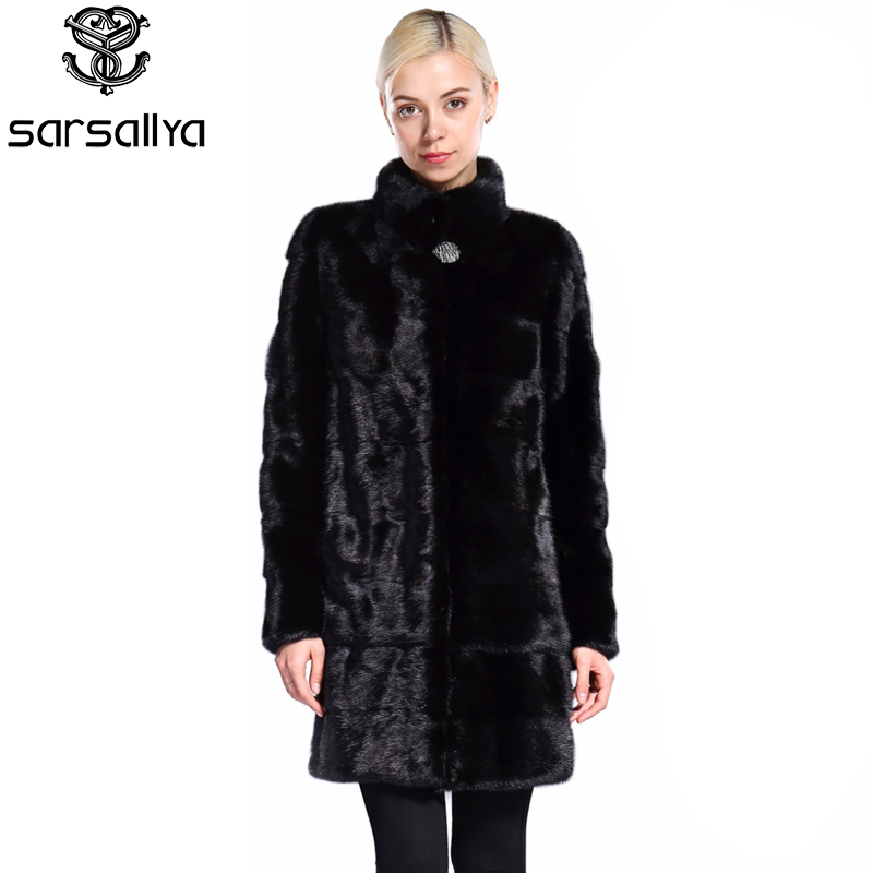 Mink Coats Women Real Mink Fur Coat Winter Natural Fur Coat Female Mink Jacket Genuine Warm Luxury Russia Black Clothes 2020 New