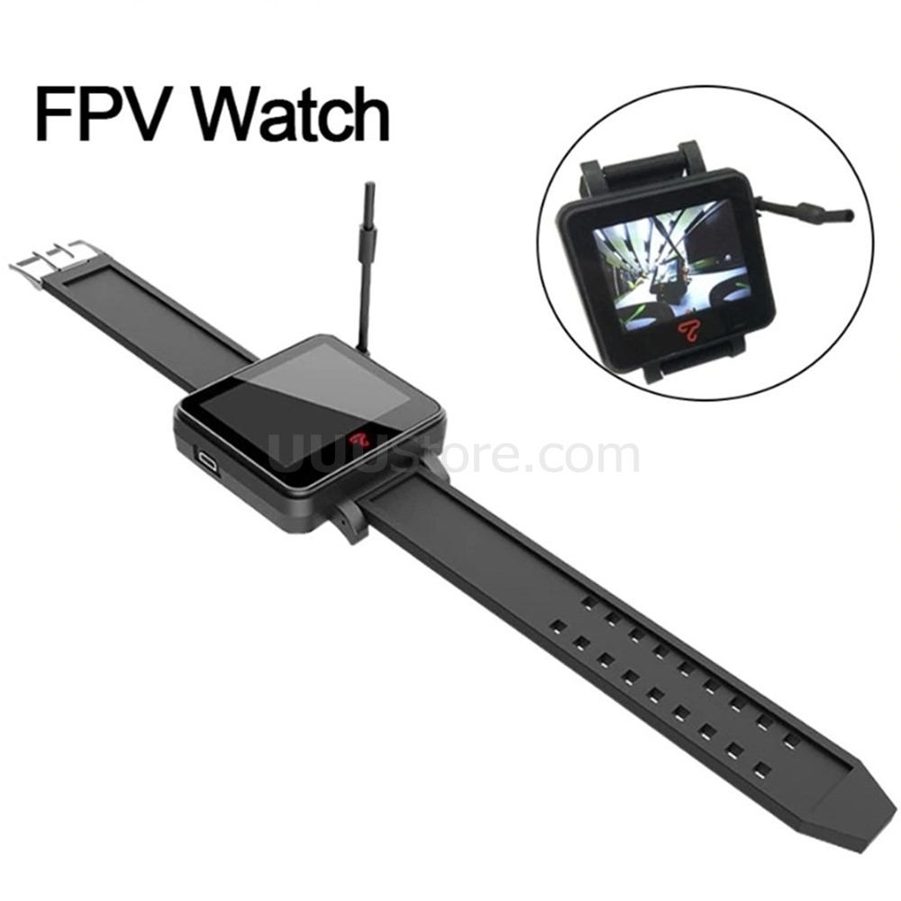 Topsky FPV Watch 48 Channel 5.8Ghz Receiver FPV Monitor Display Raceband Mmcx Interface Wrist  For RC Racing Quadcopter