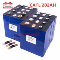 8 Uds CATL LIFEPO4 batería 3.2v200AH 2019 nueva célula de baterías recargables para 24V200AH para RV SOLAR EV Marina UE EE. UU. Libre de impuestos