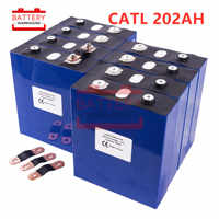 8PCS CATL LIFEPO4 battery 3.2v200AH 2019 new Rechargeable Batteries cell for 24V200AH for RV SOLAR EV Marine EU US TAX VAT FREE