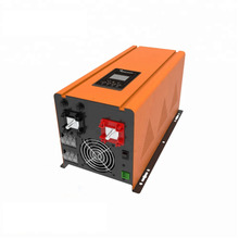 цена на 3000w pure sine wave Low Frequency strong impact resistance  solar/UPS Inverter with AC Charger 3kw  lcd pannel