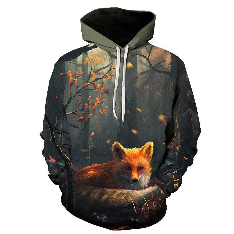 Wolf Printed Women 3d Hoodies Brand Sweatshirts Girl Boy Jackets Pullover Fashion Tracksuits Animal Streetwear Lovers Sweatshirt 57
