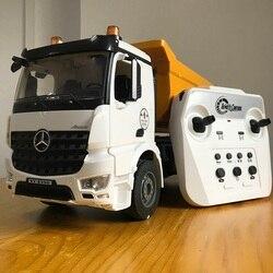 1/20 E590 Сплав RC грузовик 2,4 г Дистанционное управление автомобиля гусеница модель самосвалов (инженерных машин радиостанция Игрушки для маль...