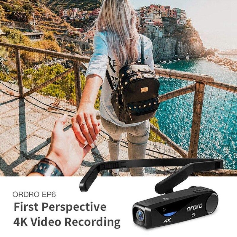 ORDRO Vlog caméra 4K caméra vidéo EP6 caméscope numérique Full HD UHD 25Fps portable Wifi Filmadora Vlog caméra - 2
