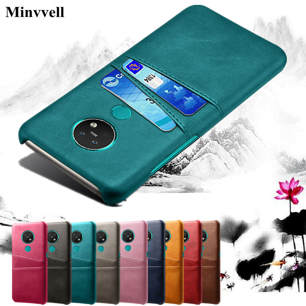 For <font><b>Nokia</b></font> 8.1 7.2 7.1 6.2 6.1 <font><b>5.1</b></font> 4.2 3.2 3.1 2.2 2.1 Card Slots Phone PU Leather <font><b>Case</b></font> For <font><b>Nokia</b></font> 9 Pureview 1 2 7 <font><b>Plus</b></font> Cover image